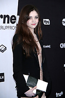 NEW YORK, NY - MAY 16:  India Eisley at Turner Upfront 2018 at Madison Square Garden in New York. May 16, 2018 Credit: RW/MediaPunch