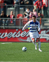 11 April 2009:FC Dallas forward Kenny Cooper #33 takes a ball up field during MLS action at BMO Field Toronto, in a game between FC Dallas and Toronto FC. .Final score was a 1-1 draw.