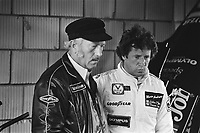Chapman and Andretti at 1978 Dutch Grand Prix, Zandvoort, HOLLAND