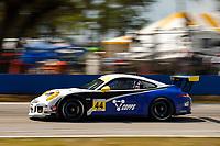 2017 Porsche GT3 Cup USA<br /> Sebring International Raceway, Sebring, FL USA<br /> Friday 17 March 2017<br /> 44, Greg Palmer, GT3G, USA, 2015 Porsche 991<br /> World Copyright: Jake Galstad/LAT Images<br /> ref: Digital Image lat-galstad-SIR-0317-14696