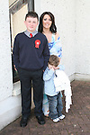 Aaron Farrell at his Confirmation in The Star of the Sea Church with Pamela Curran and Alex Farrell...Photo NEWSFILE/Jenny Matthews.(Photo credit should read Jenny Matthews/NEWSFILE)....This Picture has been sent you under the condtions enclosed by:.Newsfile Ltd..The Studio,.Millmount Abbey,.Drogheda,.Co Meath..Ireland..Tel: +353(0)41-9871240.Fax: +353(0)41-9871260.GSM: +353(0)86-2500958.email: pictures@newsfile.ie.www.newsfile.ie.FTP: 193.120.102.198.