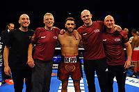 Darren Reay defeats Samuil Dimitrov via first round stoppage during a Boxing Show at the Metro Radio Arena on 13th October 2018