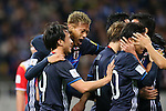 Japan team group (JPN), <br /> MARCH 29, 2016 - Football / Soccer : <br /> FIFA World Cup Russia 2018 Asian Qualifier <br /> Second Round Group E match <br /> between Japan - Syria <br /> at Saitama Stadium 2002, Saitama, Japan. <br /> (Photo by YUTAKA/AFLO SPORT)