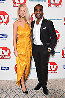 LONDON, UK. September 10, 2018: Ore Odubu at the TV Choice Awards 2018 at the Dorchester Hotel, London.<br /> Picture: Steve Vas/Featureflash