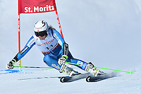 February 16, 2017: Ragnhild MOWINCKEL (NOR) competing in the women's giant slalom event at the FIS Alpine World Ski Championships at St Moritz, Switzerland. Photo Sydney Low