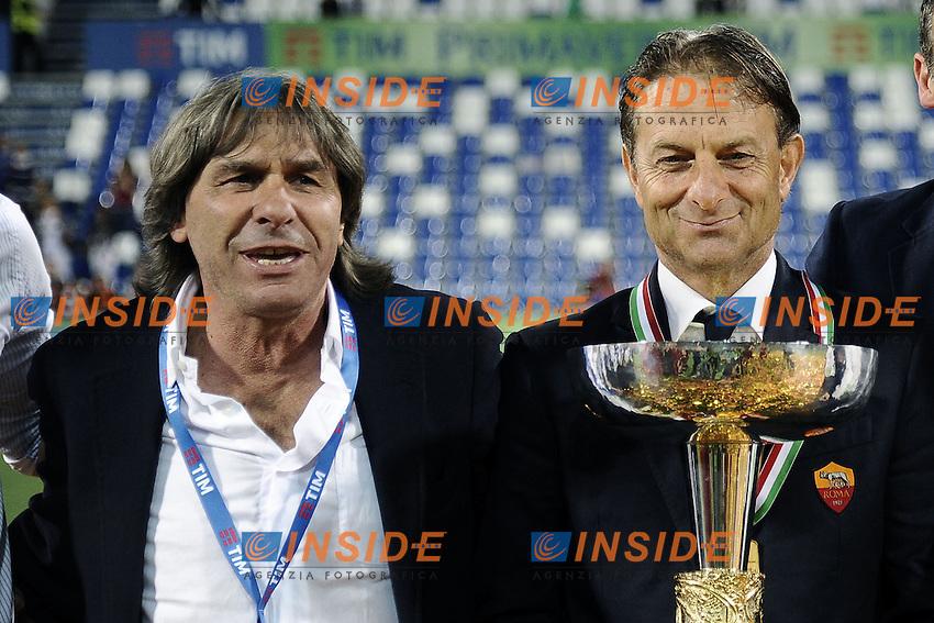 Reggio Emilia 04-06-2016 - finale Campionato Primavera / Roma-Juventus / foto Daniele Buffa/Image Sport/Insidefoto<br /> nella foto: Alberto De Rossi-Bruno Conti