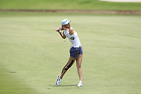 Michelle Wie (USA) in action on the 16th during Round 1 of the HSBC Womens Champions 2018 at Sentosa Golf Club on the Thursday 1st March 2018.<br /> Picture:  Thos Caffrey / www.golffile.ie<br /> <br /> All photo usage must carry mandatory copyright credit (&copy; Golffile | Thos Caffrey)