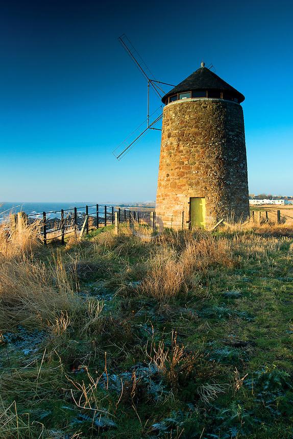 St Monans Windmill, St Monans, on the Fife Coastal Path, the East Neuk of Fife, Fife