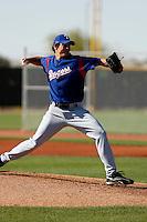 Paul Kometani  -Texas Rangers - 2009 spring training.Photo by:  Bill Mitchell/Four Seam Images