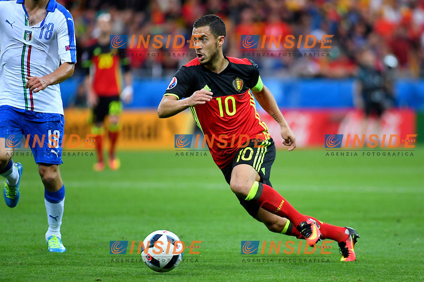 Hazard Eden midfielder of Belgium   <br /> Lyon 13-06-2016 Stade de Lyon Footballl Euro2016 Belgium - Italy / Belgio - Italia Group Stage Group D. Foto Photo News / Panoramic  / Insidefoto