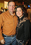 Dan and Perri D'Armond at the Cattle Baron's Ball at the George Ranch Saturday April 24,2010.. (Dave Rossman Photo)