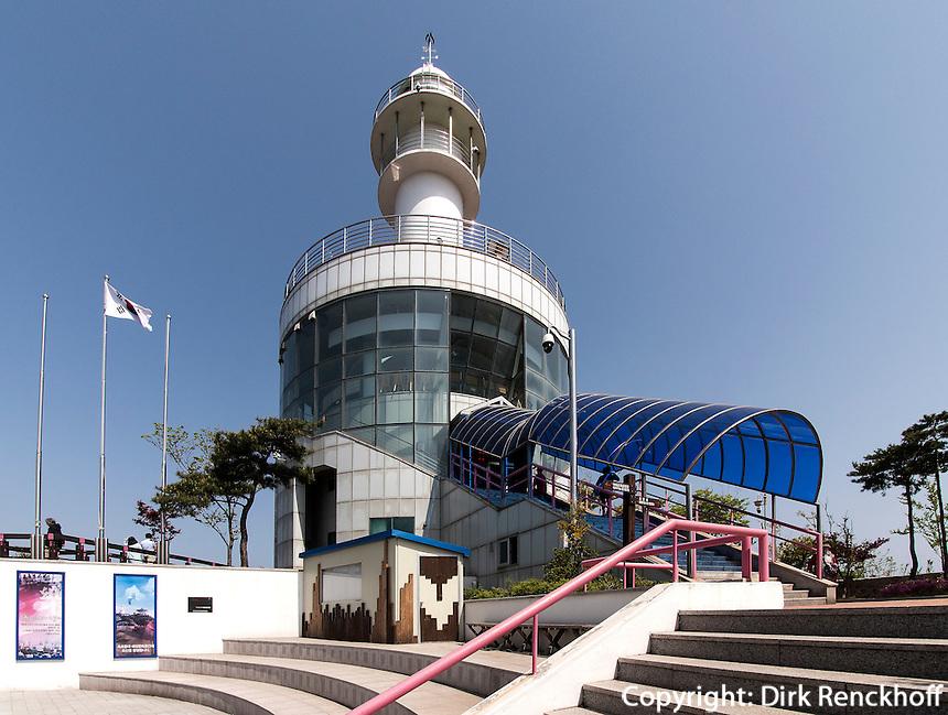 Leuchturm von Sokcho, Provinz Gangwon, S&uuml;dkorea, Asien<br /> lighthouse,  Sokcho, province Gangwon, South Korea, Asia