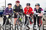 At the St Brendan's NS FENIT Coastal Cycle on Saturday were Sheila McCarthy, Cathal King, Michael Donovan, Carolyn Martin