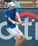 John Isner (USA) Defeats Alex Kuznetsov (USA) 7-6(2), 7-6(4)