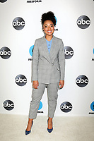 LOS ANGELES - FEB 5:  Aisha Dee at the Disney ABC Television Winter Press Tour Photo Call at the Langham Huntington Hotel on February 5, 2019 in Pasadena, CA.<br /> CAP/MPI/DE<br /> ©DE//MPI/Capital Pictures