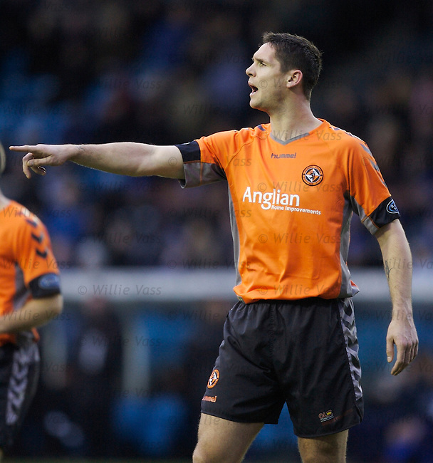 Lee Wilkie, Dundee Utd.stock season 2006-2007.pic willie vass