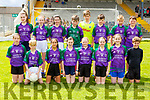 The Gaelscoil Faithlean NS team that played in the Killarney Garda NS football blitz in Fitzgerald Stadium on Wednesday