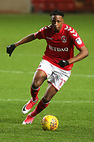 Joe Aribo of Charlton Athletic in action during Charlton Athletic vs Portsmouth, Checkatrade Trophy Football at The Valley on 7th November 2017