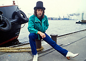 Sep 1984: DEEP PURPLE- Ritchie Blackmore photosession in Hamburg Germany