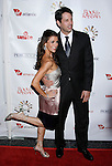 HOLLYWOOD, CA. - October 23: TV Personality Samantha Harris and her husband Michael Hess arrive at the Sir Richard Branson Charity Event Rock The Kasbah Benefitting Virgin Unite at The Hollywood Roosevelt Hotel on October 23, 2008 in Hollywood, California.
