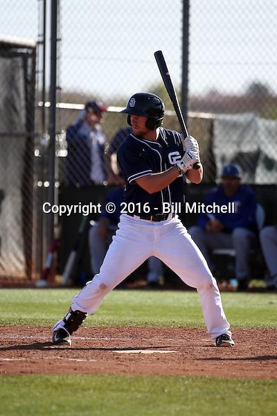 Nelson Ward - San Diego Padres 2016 spring training (Bill Mitchell)