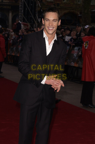 "JONATHAN RHYS MEYERS.""Mission Impossible 3"" UK Film Premiere - Arrivals, Odeon Leicester Square, London, UK. .April 25th 2006.Ref: CAN.half length Rhys-Meyers black suit jacket.www.capitalpictures.com.sales@capitalpictures.com.©Capital Pictures"