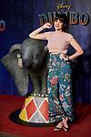 Cristina Abad attends to Dumbo premiere at Principe Pio Theatre in Madrid, Spain. March 27, 2019. (ALTERPHOTOS/A. Perez Meca)