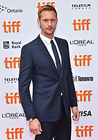 08 September 2018 - Toronto, Ontario, Canada - Alexander Skarsg&aring;rd. &quot;The Hummingbird Project&quot; Premiere - 2018 Toronto International Film Festival held at the Princess of Wales Theatre. <br /> CAP/ADM/BPC<br /> &copy;BPC/ADM/Capital Pictures