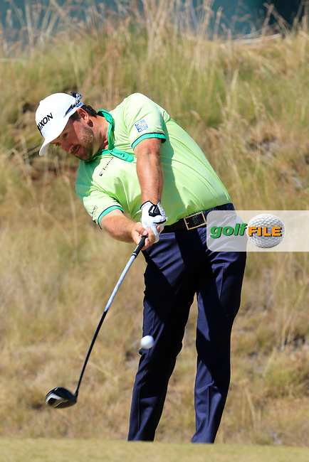 Graeme McDOWELL (NIR) tees off the 6th tee during Friday's Round 2 of the 2015 U.S. Open 115th National Championship held at Chambers Bay, Seattle, Washington, USA. 6/19/2015.<br /> Picture: Golffile | Eoin Clarke<br /> <br /> <br /> <br /> <br /> All photo usage must carry mandatory copyright credit (&copy; Golffile | Eoin Clarke)