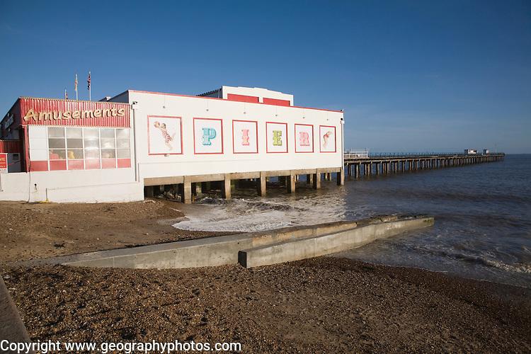 Felixstowe pier, Suffolk, England