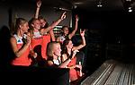 NEDERHORST DEN BERG - Opname Clip 'Sterker Dan Ooit' - Do. met hockey -  internationals Valentin Verga, Mirco Pruyser, Billy Bakker, Jorrit Croon, Thierry Brinkman, Sander de Wijn, Kelly Jonker, Caia van Maasakker, Kitty van Male, Margot van Geffen, Lidewij Welten, Ireen van den Assum, COPYRIGHT KOEN SUYK