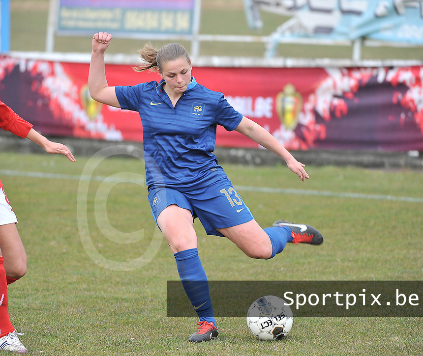 Switzerland U19 - France U19 : Marine Dafeur.foto DAVID CATRY / Nikonpro.be