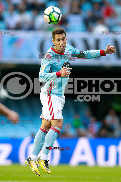 RC Celta de Vigo's Hugo Mallo during La Liga match. September 10,2017. (ALTERPHOTOS/Acero) /NortePhoto.com