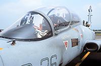 - Italian Air Force,  Aermacchi MB 339 aircraft of the Experimental Flight Unit of Pratica di Mare (Rome)....- Aeronautica Militare Italia, aereo Aermacchi MB 339 del Reparto Sperimentale Volo di Pratica di Mare (Roma)......