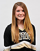 Bridget Connolly of Wantagh poses for a portrait during the Newsday All-Long Island cheerleading photo shoot at company headquarters on Tuesday, Mar. 15, 2016.