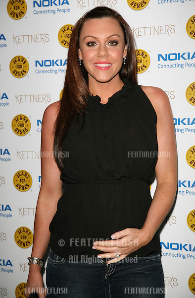 Michelle Heaton arriving for the Jeans For Genes Launch Party, at Kettners, London. 06/09/2011  Picture by: Alexandra Glen / Featureflash