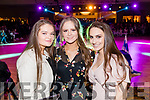 Becky Fitzgerald, Clodagh O'Sullivan and Victoria Wielogorska, pictured at the Kerins O'Rahillys Strictly Come Dancing, held at the Brandon Hotel, Tralee on Saturday night last.