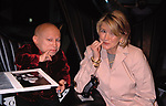 Verne Troyer and Martha Stewart attend the N.A.T.P.E. Convention at Convention Hall on January 12, 2000 in New Orleans.