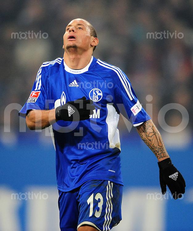 FUSSBALL   1. BUNDESLIGA   SAISON 2008/2009   16. SPIELTAG FC Schalke 04 - Hertha BSC Berlin                           06.12.2008 Jermaine JONES (FC Schalke 04)