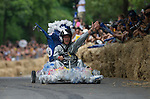 Competitors in action during the Red Bull Soapbox Taiwan on 29 September 2013 in Taipei, Taiwan. Photo by Victor Fraile / The Power of Sport Images