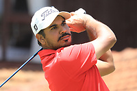 Gaganjeet Bhullar (IND) in action during the second round of the Magical Kenya Open, Karen Country Club, Nairobi, Kenya. 15/03/2019<br /> Picture: Golffile | Phil Inglis<br /> <br /> <br /> All photo usage must carry mandatory copyright credit (&copy; Golffile | Phil Inglis)