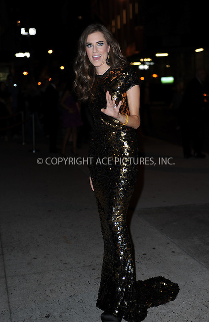 WWW.ACEPIXS.COM<br /> October 22, 2015 New York City<br /> <br /> Allison Williams arriving to attend the 2015 Fashion Group International's Night Of Stars at Cipriani Wall Street on October 22, 2015 in New York City.<br /> <br /> Credit: Kristin Callahan/ACE<br /> Tel: (646) 769 0430<br /> e-mail: info@acepixs.com<br /> web: http://www.acepixs.com