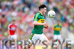 Paul Murphy Kerry in action against  Cork in the Munster Senior Football Final at Fitzgerald Stadium on Sunday.