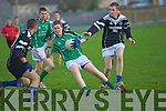 Colaite Na Sceilge V Tarbert Comprehensive in The Semi-Final of the O'Sullivan Cupat Pat Healy Memorial Park, Ballyrichard, Tralee on Wednesday....