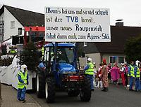 Büttelborn 03.03.2019: Rosensonntagsumzug<br /> Apres Ski des TV Büttelborn in der Zugaufstellung<br /> Foto: Vollformat/Marc Schüler, Schäfergasse 5, 65428 R'eim, Fon 0151/11654988, Bankverbindung KSKGG BLZ. 50852553 , KTO. 16003352. Alle Honorare zzgl. 7% MwSt.