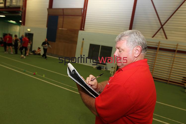 Javelin Coach coach John Davies..30.10.10.©Steve Pope