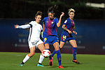 Spanish Women's Football League Iberdrola 2017/18 - Game: 9.<br /> FC Barcelona vs Madrid CFF: 7-0.<br /> Alba Mellado vs Leila Ouahabi.
