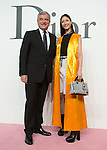 Sydney Toledano and Nanao, Jun 16, 2015 : Tokyo, Japan - Christian Dior CEO Sydney Toledano (L) and actress/model Nanao (R) attend a photocall for the Christian Dior 2015-16 Ready to Wear collection in Tokyo, Japan. (Photo by AFLO)