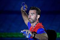 James Gibson, head coach of Energy Standard <br /> Napoli 12-10-2019 Piscina Felice Scandone <br /> ISL International Swimming League <br /> Photo Andrea Staccioli/Deepbluemedia/Insidefoto