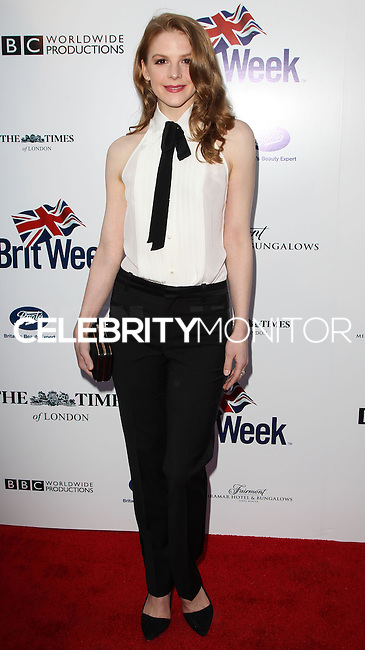 LOS ANGELES, CA, USA - APRIL 22: Ashley Bell at the 8th Annual BritWeek Launch Party on April 22, 2014 in Los Angeles, California, United States. (Photo by Celebrity Monitor)